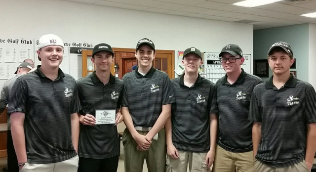 Golf Team Takes Third Place in JCAA Conference Tournament