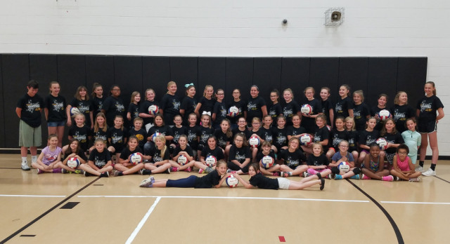Volleyball Sponsors Camp for 3-5 Grades