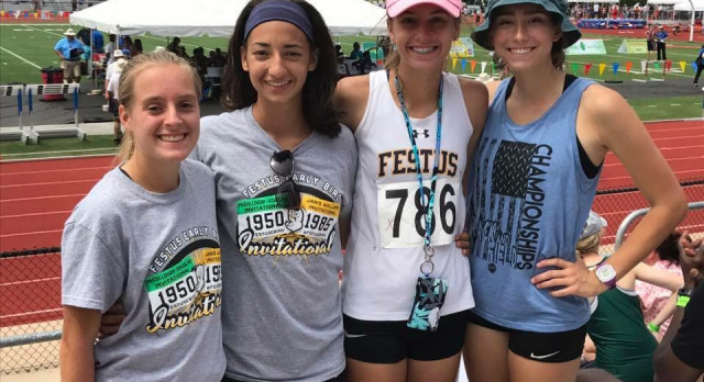 Relay Team and McMillin Finish Strong at State