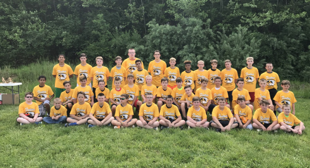 Eleventh Annual Junior Tiger Football Camp is a Success