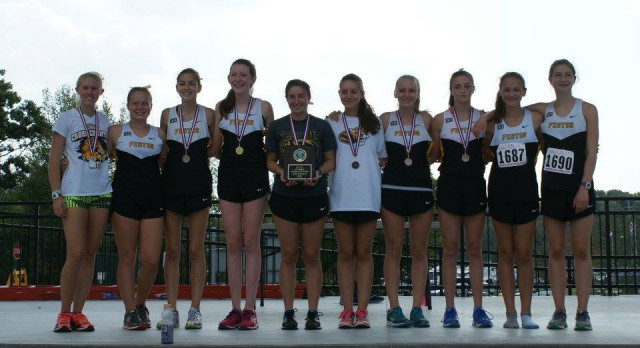 JV Cross Country Girls Dominate JCAA Conference Meet