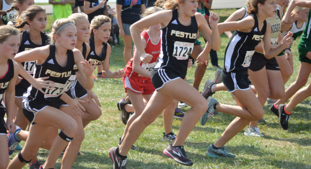 Middle School Girls Miss Cross Country Title by Two Points