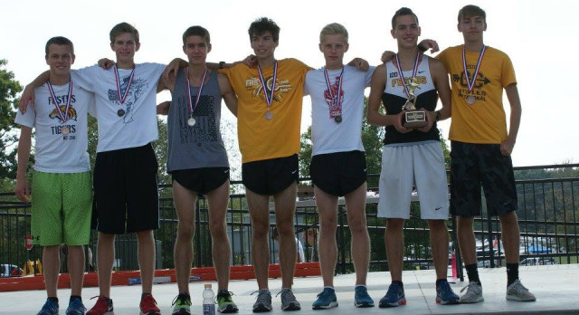 Varsity Boys Cross Country Makes it 11 Straight Conference Titles