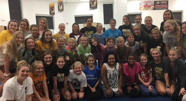 Cheerleaders and Camp Participants to Perform Monday