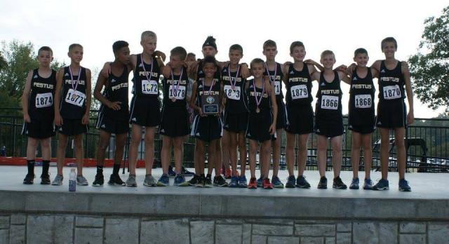 Middle School Boys Win JCAA Cross Country Title