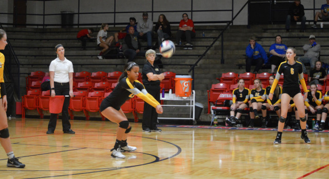 Tigers Advance in District Volleyball Tournament With Victory Over North County