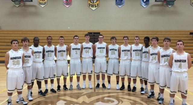 Windsor Varsity Basketball Roster