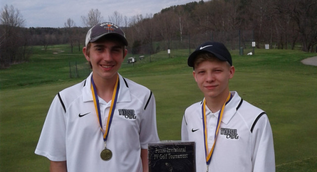 JV Golfers take 1st Place at Potosi Tournament! Carter and Mahon Earn Medalist Honors!