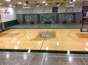 New Gym Floor Picture