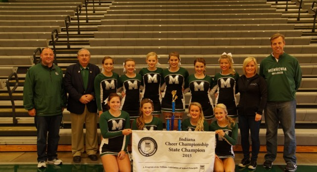 Cheerleading State Champion Ring Ceremony!