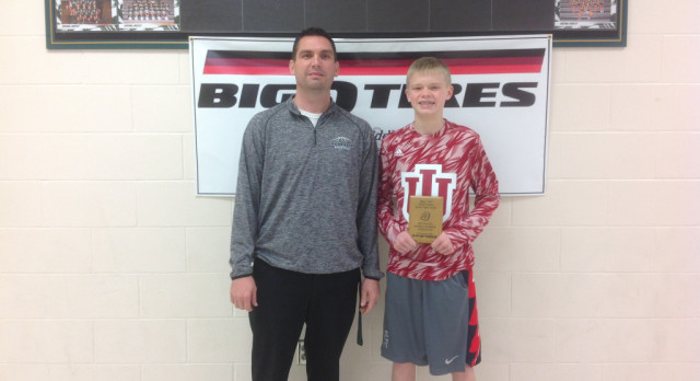 Joey Williams Big O Tire Middle School Athlete of the Week!