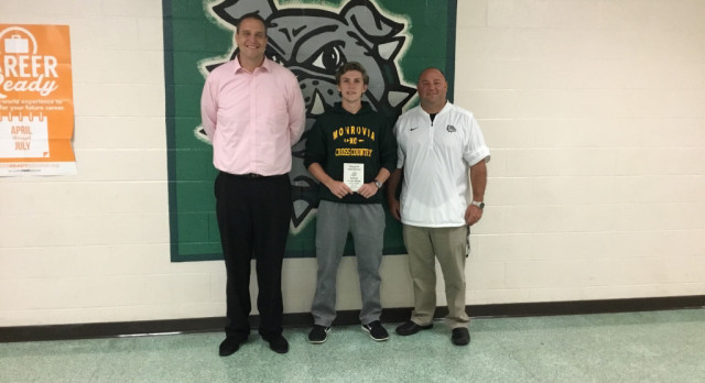 Jordan Goodman is Nichols Insurance Athlete of the Week!