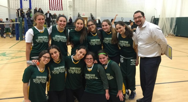 Girls Varsity Volleyball Amazing Post Season WIN