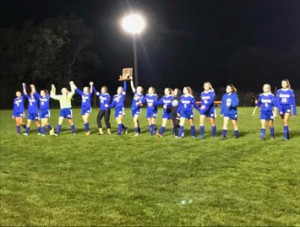 2017 Girls Soccer Sectional champs