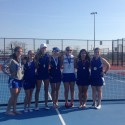 Tennis Team 2nd Place at So. County