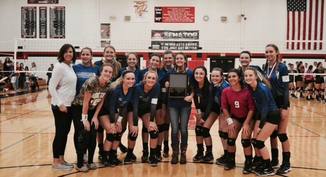 Boone Grove Girls Varsity Volleyball PCC Champs