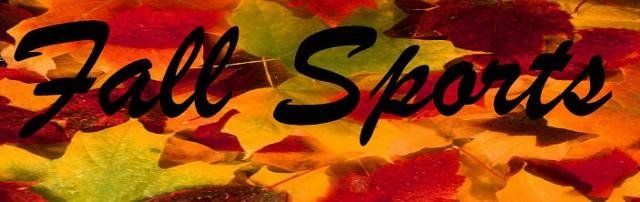 Fall Sports Info