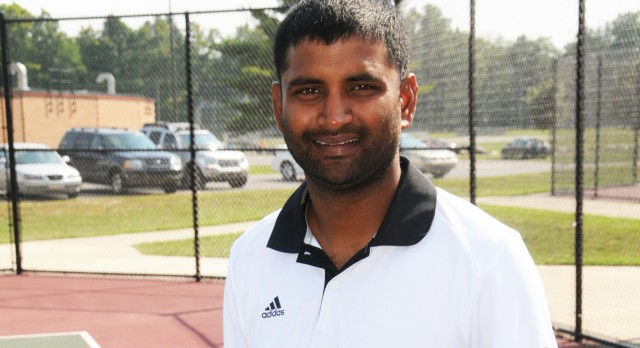 JHS Tennis Coach Regional Coach of the Year
