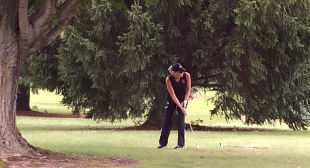Lady Vikings Golf Team Opens CAAC League Play