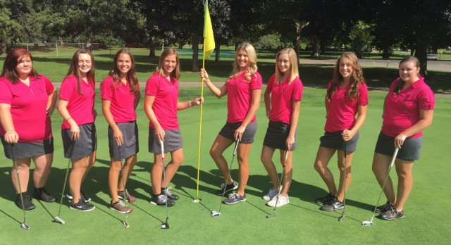 Jackson High School Girls Varsity Golf finishes 4th place