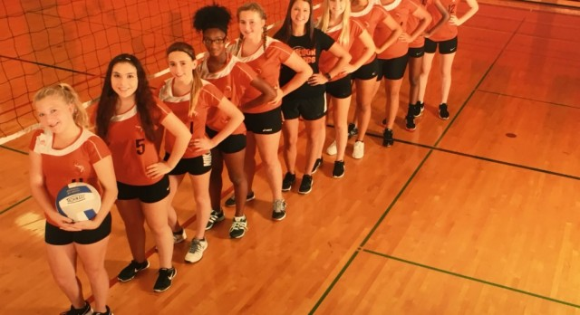 Jackson High School Girls Freshman Volleyball falls to Northwest High School 2-0