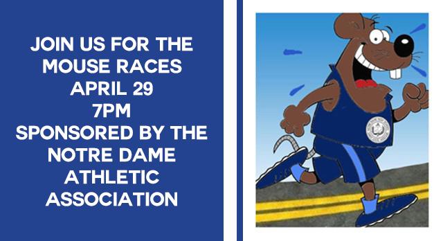 2017 Notre Dame Mouse Races
