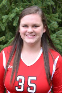 Kara Morris had nine digs and 26 assists to lead the Dragons.