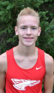 Tyler Carrie led the Dragons in Tuesday's NP invitational.