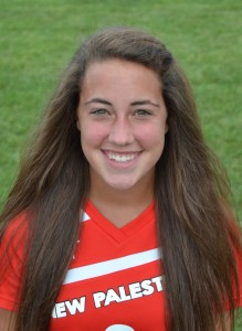 Courtney Smith scored a goal and added an assist in a 6-0 win over Greenfield-Central.
