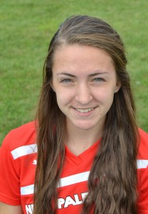 Katie Villiger had a hat trick for the Dragons on Wednesday.