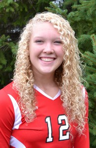 Katlyn Keele had nine kills and 14 digs for the Dragons against Mooresville.