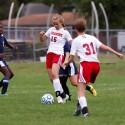 Girls soccer vs. Delta