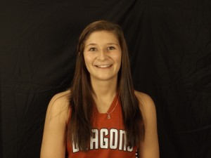 Senior Haley Stratman scored 13 points in the win against Franklin Central.