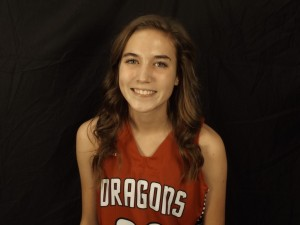 Megan Jolly had a key steal and score in overtime to give the Dragons the lead for good in a 61-58 win.