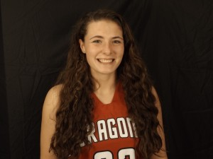 Senior Carly Hackler had nine rebounds and two assists to help pace the Dragons against G-C.