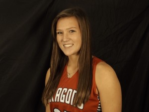 Sophomore Katie Herron had 13 points in the Dragons' game against Greenwood, one of three players in double figures.