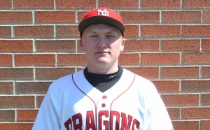 Jacob Smith had two RBI singles in the Dragons' 7-2 victory.