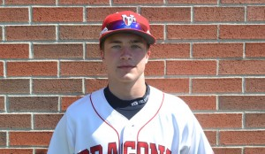 Nick Rusche had two hits for the Dragons in their loss to Decatur Central.