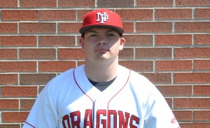Jason Hall-Manley hit two doubles and drove in four runs to lead the Dragons' victory over Greenwood.