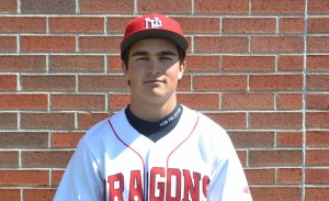 Evan Fitzgerald scored three times and was 2-for-3 in the Dragons' victory over Greenwood.