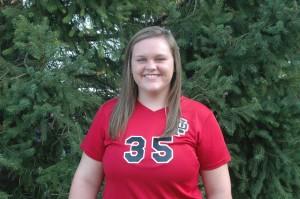 Kara Morris had 31 assists for the Dragons.