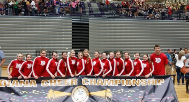 Cheer advancing to State Finals