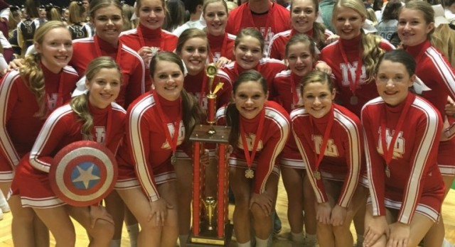 Cheer finishes second at State Finals