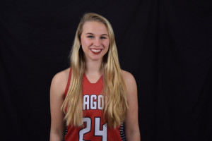 Raegan McMurray scored 22 points to lead the Dragons in their loss at Franklin Central.