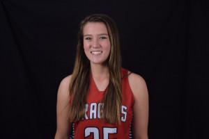 Katie Herron scored eight points for the Dragons.