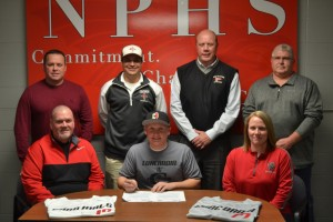 Jake Smith signs with Concordia University in Ann Arbor. Smith is a senior catcher for the NPHS baseball team.