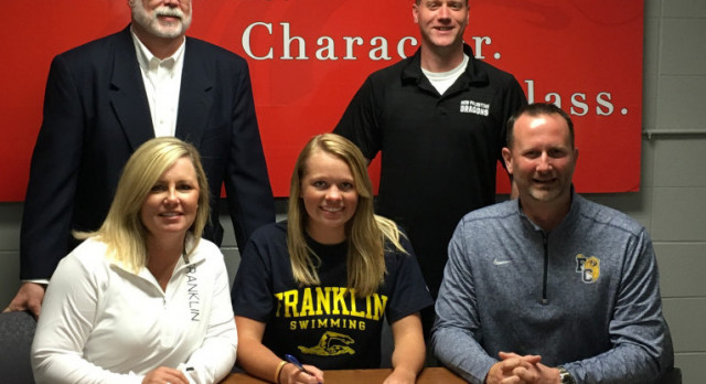 Coffman to swim at Franklin College
