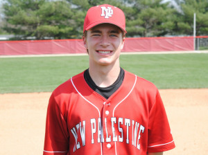 Nick Rusche had two extra-base hits, scored twice and drove in four runs in the Dragons' 8-1 victory.