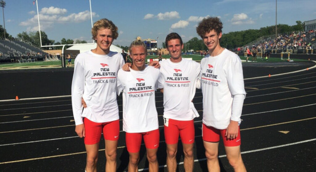 Boys track claims three titles at sectional
