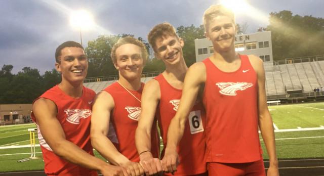 Boys track wins three titles at regional